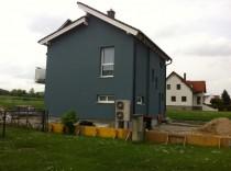 Wärmeschutzfassade - Objekt Pöttsching - Zum Vergrössern anklicken